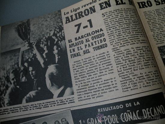 Coleccionismo deportivo: DIARIO MARCA, BARCELONA CAMPEON LIGA 1958-59, REAL MADRID, ATLETICO, DERBI!!!!!! - Foto 2 - 28654011