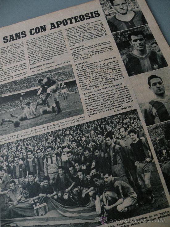 Coleccionismo deportivo: DIARIO MARCA, BARCELONA CAMPEON LIGA 1958-59, REAL MADRID, ATLETICO, DERBI!!!!!! - Foto 3 - 28654011