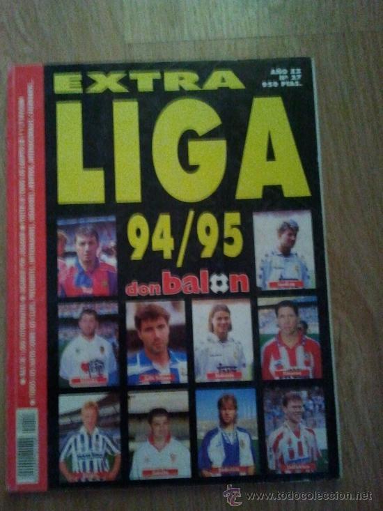 EXTRA LIGA DON BALON 94 95 1994 1995 (Coleccionismo Deportivo - Revistas y Periódicos - Don Balón)