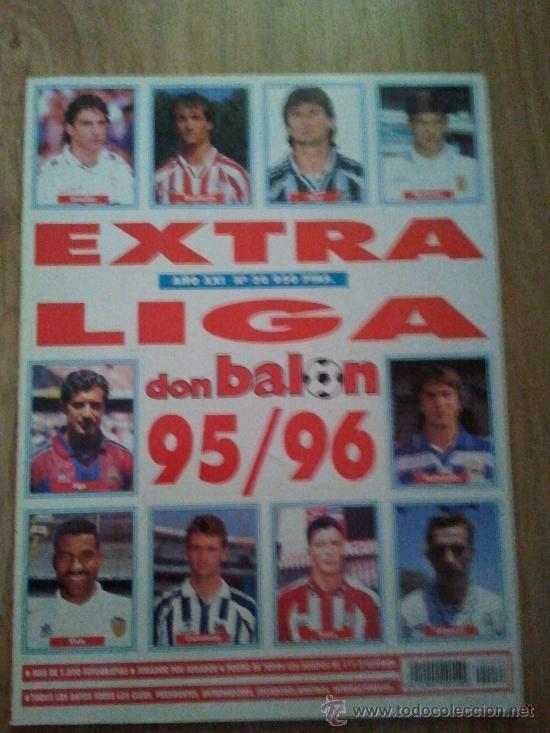 EXTRA LIGA DON BALON 95 96 1995 1996 (Coleccionismo Deportivo - Revistas y Periódicos - Don Balón)