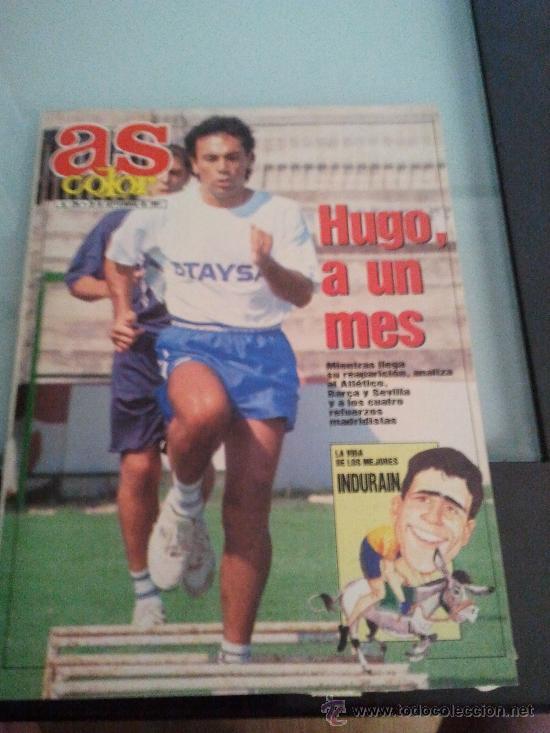 REVISTA AS COLOR SEPTIEMBRE 1991 (Coleccionismo Deportivo - Revistas y Periódicos - As)