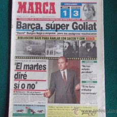 Coleccionismo deportivo: MARCA-Nº15.448-ABRIL 1991-40 PAG-LAUDRUP-LUIS ARAGONES-GULLIT-JAVIER CLEMENTE-MARADONA-MATTHAUS. Lote 28813083