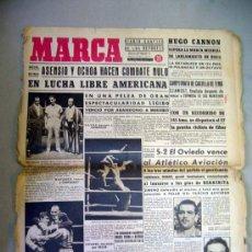 Coleccionismo deportivo: PERIODICO, DIARIO, MARCA, JUNIO 1943, EN LUCHA LIBRE AMERICANA. Lote 29133342