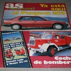 Coleccionismo deportivo: REVISTA AS SEMANAL Nº40 NOVIEMBRE 1986. Lote 29089943