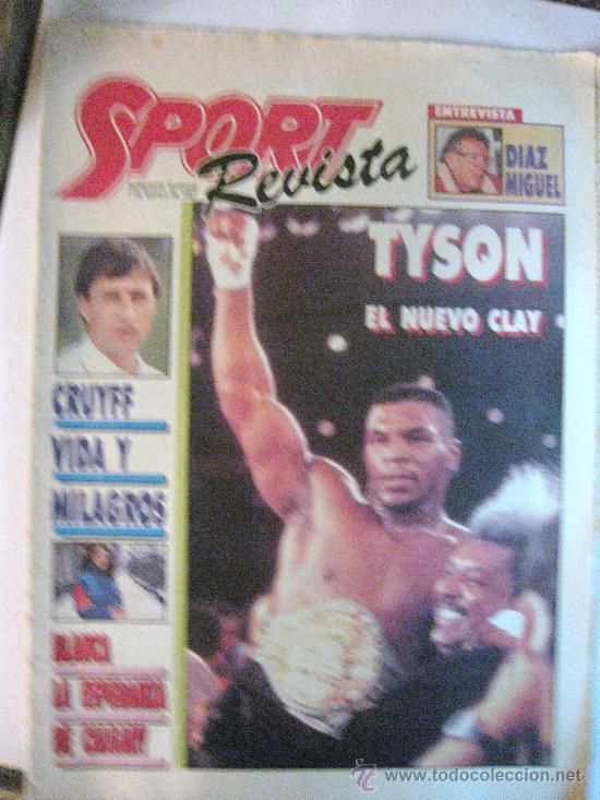 REVISTA SPORT. SUPLEMENTO DOMINICAL.7 DE FEBRERO DE 1987. CRUYFF VIDA Y MILAGROS (Coleccionismo Deportivo - Revistas y Periódicos - Sport)
