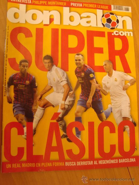 REVISTA DON BALON Nº 1867 SUPERCOPA ESPAÑOLA AGOSTO 2011 (Coleccionismo Deportivo - Revistas y Periódicos - Don Balón)