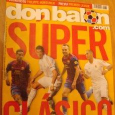 Coleccionismo deportivo: REVISTA DON BALON Nº 1867 SUPERCOPA ESPAÑOLA AGOSTO 2011. Lote 29113071