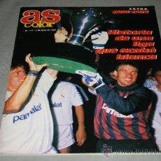 Coleccionismo deportivo: EXTRA AS COLOR SEMANAL RESUMEN TEMPORADA 88-89. Lote 29168963