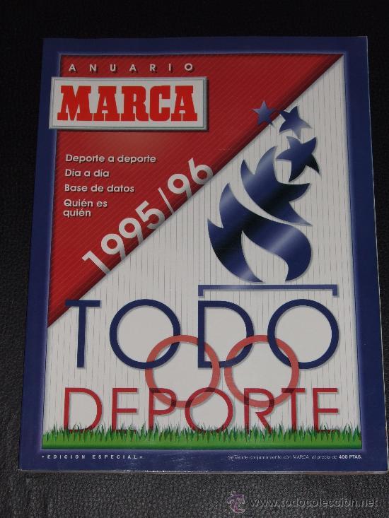 ANUARIO MARCA 1995/96 (Coleccionismo Deportivo - Revistas y Periódicos - Marca)