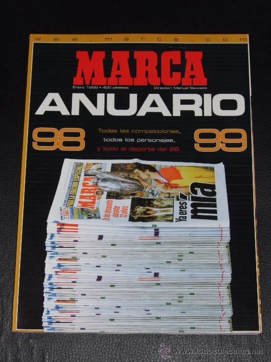 ANUARIO MARCA 98/99 (Coleccionismo Deportivo - Revistas y Periódicos - Marca)