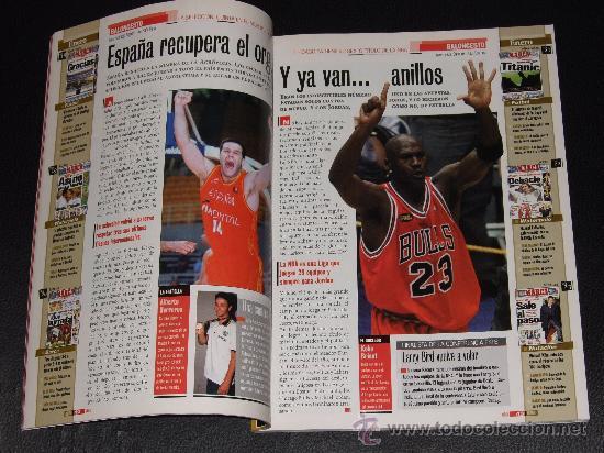 Coleccionismo deportivo: ANUARIO MARCA 98/99 - Foto 2 - 29169450