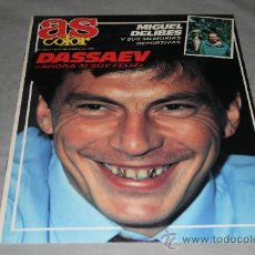 Coleccionismo deportivo: REVISTA AS SEMANAL Nº197 NOVIEMBRE 1989. Lote 29173540