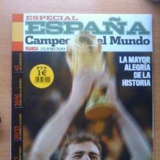 Coleccionismo deportivo: EXTRA REVISTA SUPLEMENTO ESPECIAL ESPAÑA CAMPEONA DEL MUNDO - MARCA SELECCION ESPAÑOLA 2010 CASILLAS. Lote 45596396