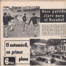 Coleccionismo deportivo: PERIODICO DEPORTIVO MUNDO DEPORTIVO 23-4-72. Lote 29202010