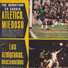 Coleccionismo deportivo: REVISTA DEPORTIVA AS COLOR Nº 259 4-5-76 CON CARTEL ALINEACION BURGOS C.F. . Lote 29229624