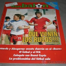 Coleccionismo deportivo: REVISTA FÚTBOL DON BALÓN Nº 536 ENERO 1986 POSTER GOTEBORG 85-86. Lote 29361923