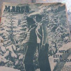 Coleccionismo deportivo: MARCA(10-2-59)-LIGA ESPAÑOLA FUTBOL- 21ª JORNADA.. Lote 29512476
