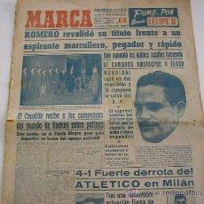 Collezionismo sportivo: PERIODICO MARCA. JUNIO DE 1951. Lote 29666104