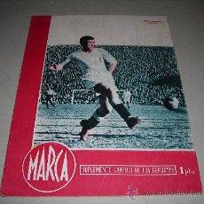 Coleccionismo deportivo: (M-21) MARCA - VALENCIA FC - JUAN RAMON, R MADRID 6 - HERCULES 1 ., AÑO IV , MADRID 1945 NUM 133. Lote 29825493