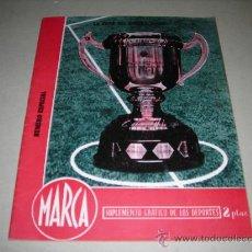 Coleccionismo deportivo: (M-21) MARCA - NUMERO ESPECIAL FINAL DEL GENERALISIMO ATH BILBAO 3 - VALENCIA FC 2 , 1945, ILUSTRADO. Lote 29825566