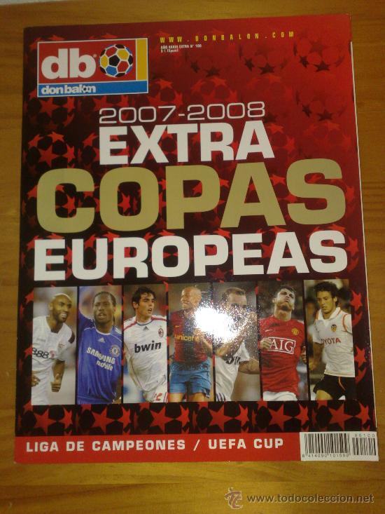 DON BALON : REVISTA EXTRA COPAS EUROPEAS 2007-2008 PERFECTA - NUEVA (Coleccionismo Deportivo - Revistas y Periódicos - Don Balón)