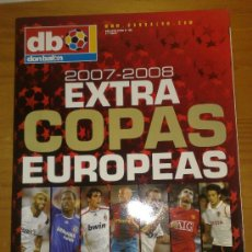 Coleccionismo deportivo: DON BALON : REVISTA EXTRA COPAS EUROPEAS 2007-2008 PERFECTA - NUEVA. Lote 29831709