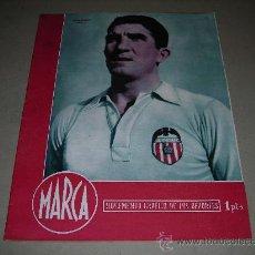 Coleccionismo deportivo: (M-21) MARCA - VALENCIA FC - JUGADOR JUAN RAMON ., AÑO III , MADRID 1944 NUM 99. Lote 29838357