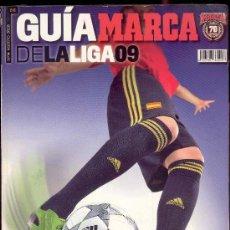 Coleccionismo deportivo: GUIA MARCA DE LA LIGA 09 - Nº 14 -AGOSTO 2008 - LO MEJOR DEL FUTBOL DE EUROPA. Lote 36885581