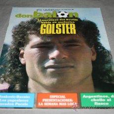 Colecionismo desportivo: REVISTA FÚTBOL DON BALÓN Nº 667 AGOSTO 1988 PAGINAS CENTRALES PRESENTACIONES 88-89. Lote 29888535