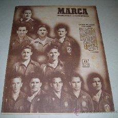 Coleccionismo deportivo: (M-21) MARCA - ESPAÑA 3 - ESTADOS UNIDOS 1 ., AÑO XI , MADRID 1950 NUM 395. Lote 29913919