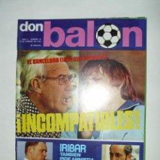 Coleccionismo deportivo: REVISTA DON BALON NUMERO 19 (10 DE FEBRERO 1976) POSTER RICARDO REZZA (SALAMANCA). Lote 29952208