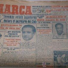 Coleccionismo deportivo: PERIODICO MARCA. AGOSTO DE 1949. . Lote 29998285