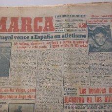 Coleccionismo deportivo: PERIODICO MARCA. AGOSTO DE 1950. CON FOTOS DEL LITRI Y LUIS MIGUEL. Lote 29998317