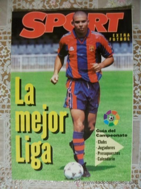 SPORT LA MEJOR LIGA FUTBOL 96 97 (Coleccionismo Deportivo - Revistas y Periódicos - Sport)