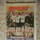 Coleccionismo deportivo: SPORT 1998 BARÇA CAMPIONS BARCELONA. Lote 30058168