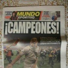Coleccionismo deportivo: MUNDO DEPORTIVO BARÇA CAMPEONES LIGA 2005 BARCELONA. Lote 30058655
