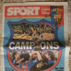 Coleccionismo deportivo: SPORT BARÇA CAMPIONS LIGA 2005 BARCELONA FUTBOL. Lote 30073546