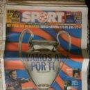 Coleccionismo deportivo: SPORT FINAL CHAMPIONS 2006 BARÇA ARSENAL BARCELONA FUTBOL. Lote 89431931