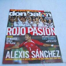 Coleccionismo deportivo: DON BALON Nº 1861: ROJO PASION, ENTREVISTA ANDER HERRERA, INFORME DI MARIA, ALEXIS SANCHEZ CR. Lote 243533975