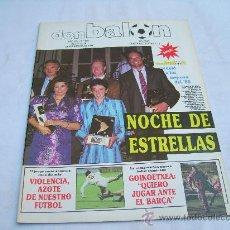 Collectionnisme sportif: DON BALON Nº 688: NOCHE DE ESTRELLAS, VIOLENCIA EN NUESTRO FUTBOL, GOIKOETXEA AL BARÇA. Lote 30115496