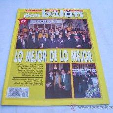 Collectionnisme sportif: DON BALON Nº 843: LO MEJOR DE LO MEJOR, SCHUMACHER, A FONDO CON MATURANA, GENTE DE FUTBOL CR. Lote 233064965