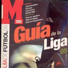 Coleccionismo deportivo: REVISTA MARCA, GUIA DE LA LIGA 05. Lote 30113078