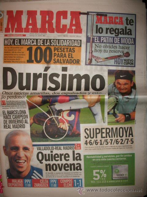 PERIODICO DEPORTIVO MARCA (Coleccionismo Deportivo - Revistas y Periódicos - Marca)