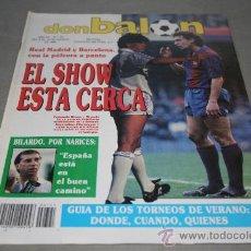 Colecionismo desportivo: REVISTA FÚTBOL DON BALÓN Nº 721 AGOSTO 1989 PAGINAS CENTRALES PRESENTACIONES 89-90. Lote 30332348
