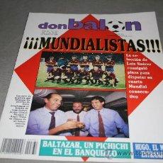 Colecionismo desportivo: REVISTA FÚTBOL DON BALÓN Nº 731 OCTUBRE 1989 POSTER SOLA OSASUNA 89-90. Lote 30333894