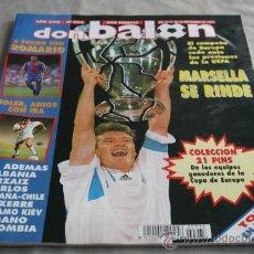 Coleccionismo deportivo: REVISTA FÚTBOL DON BALÓN Nº 933 SEPTIEMBRE 1993 O. MARSELLA CAMPEÓN COPA EUROPA 93. Lote 30635407