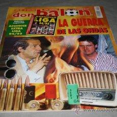 Collectionnisme sportif: REVISTA FÚTBOL DON BALÓN Nº 994-995 NOVIEMBRE 1994 POSTER COMPOSTELA 94-95. Lote 30647639