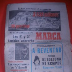 Coleccionismo deportivo: DIARIO MARCA .AÑO 1981.VALENCIA,LAS PALMAS,ZARAGOZA.,ESPECIAL PABLO PORTA..ETC.. Lote 30765653