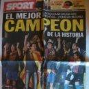 Coleccionismo deportivo: SPORT MAYO 2010 BARÇA CAMPEON LIGA. Lote 42252764