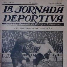 Collectionnisme sportif: LA JORNADA DEPORTIVA AÑO 1923. EN PORTADA LAS SELECCIONES DE CATALUÑA. Lote 30790249